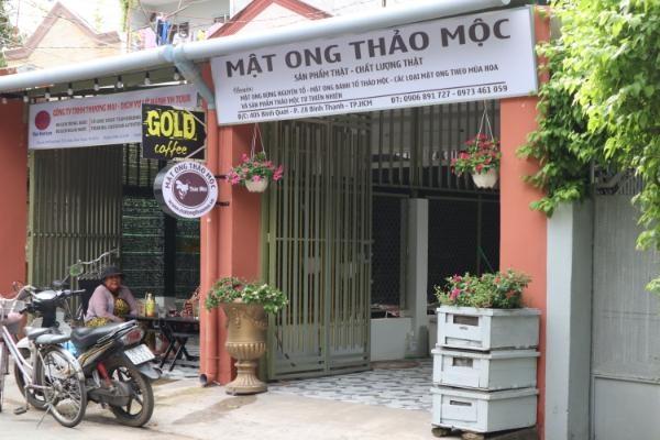 MẬT ONG HOA RỪNG THẢO MỘC CHAI 600ML